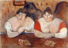 Edvard Munch, Rose and Amélie, 1894