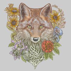 Fox Garden by RachelCaldwell