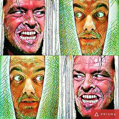 """Me and Mr. Jack"" - No 1  By Miguel Ariloque  #instagranart #artedigital #art #arte #appprisma🔺 #jachnicholson #digitalart"