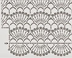 Mini Blusa em crochê, muito delicada e com fechamento lateral com botoes. 200g de fio (25g/100metros) agulha de croche numero 2 4 botoes com 1,5 cm de diametro O ponto é feito com multiplos de 12+1 Para tam 40-42 comece com 192 +1 ( 16 motivos fantasia) Para tam 44-46 comece com 216 +1( 18 motivos fantasia) Comece pela a manga direita (veja a letra A). O decote deve ser trabalhado um lado de cada vez até a altura desejada e depois unir com a carreira seguinte que ser´será feita inteira de…
