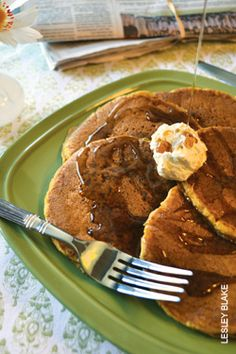 Pumpkin Pie Pancakes | Hungry diners at the Echo Restaurant in Cincinnati have made these delicious flapjacks a menu staple. | #Recipes | OhioMagazine.com