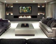 Resultado de imagen para salas grandes y elegantes