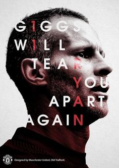 Manchester United legend Ryan Giggs has bowed out of Old Trafford after 29 years with a reminder to Jose Mourinho that the club's DNA is to give youth a chance and play attacking football. Manchester United Legends, Manchester United Football, Manchester United Poster, Best Football Team, Football Art, Milan, Soccer Poster, Happy 40th Birthday, Chelsea