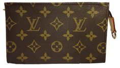Louis Vuitton Cosmetic Pouch Pouchette Wallet Clutch. Get the lowest price on Louis Vuitton Cosmetic Pouch Pouchette Wallet Clutch and other fabulous designer clothing and accessories! Shop Tradesy now