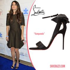 "Nikki Reed in Christian Louboutin ""Vampanodo"" Sandals"