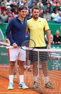 Roger Federer and Wawrinka