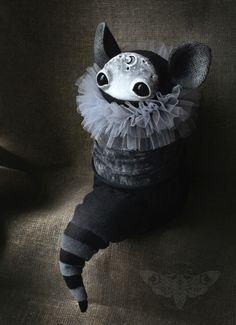 By Honey die  Art dolls / handmade / gothic