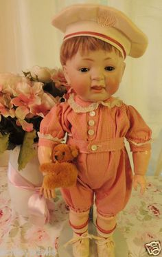 Kestner #211 Toddler Antique Doll, Ashleysdolls.com