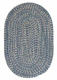 Colonial Mills Tremont TE59 Denim 2' x 10' Oval by Colonial Mills. $149.00. This round braided rug makes you just want to cozy up in front of the fire. The wool blend yarns create a textured softness and the natural color scheme coordinates with any decor.