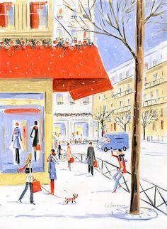 Holiday shopping // Dominique Corbasson