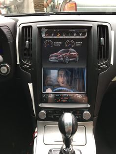 This radio can be installed in Infiniti 2007 - Stunning feature-rich. Plug and Play. Retain most OEM features. Infinite Car, Infiniti G37s, Infiniti Vehicles, Android Navigation, Android Radio, G37 Sedan, Car Interior Accessories, Car Ford, Go Kart
