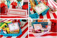 Carnival theme classroom! Maybe not to this extreme, but SO cute.