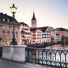 Zürich, Switzerland. End of the day   .  #Zurich #GalaxyS7edge