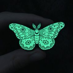 Image of Moth White - GLOW