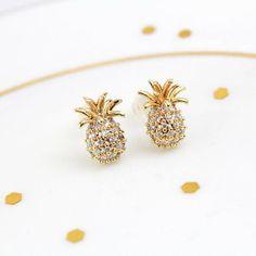 Awesome Pineapple Earrings