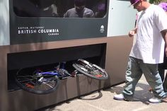 Giant Tourism Vending Machine Dispenses Bikes, Surfboards & Kayaks [Video] By Tourism British Columbia.  Great idea!!