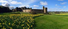North East:  Ainsley Castle, Second Oldest Castle in England, Was Hogwart's in HP, I've been there.