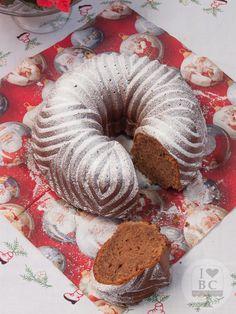 Bundt cake de turrón de chocolate suchard | I love bundt cakes