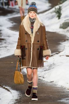 Fall 2014 Shearling Coats We Wish We Had Now | Shearling coat