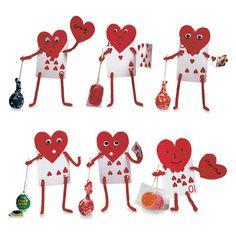 Valentine's Day cards.