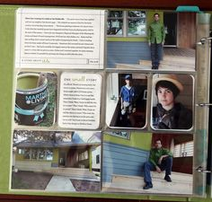 Cathy Zielske Project Life pages. Love the journaling cards.