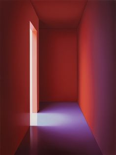 "Pierre Dorion, La Chambre Rouge II, 2014, oil on linen, 33"" x 25"". ©PIERRE DORION/COURTESY THE ARTIST AND JACK SHAINMAN GALLERY, NEW YORK"