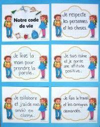 Littératout Classroom Rules, Coping Skills, Learn French, Grade 1, Preschool Activities, Kindergarten, Butterfly, Teaching, Socialism