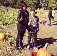 Kellin and his step son... alright kellin is married... but the step son.... :3