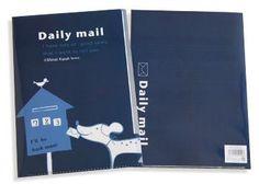 Daily Mail A4 Clear File - Kimono Daisy Japanese Stationery, Filing, Daily Mail, Daisy, Cover, A4, Books, Kimono, Libros