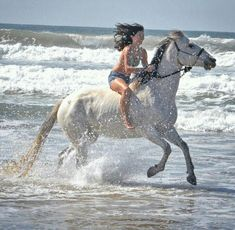 10 Reasons Why You Should Never Own Horses Pretty Horses, Horse Love, Beautiful Horses, Animals Beautiful, Woman Riding Horse, Bareback Riding, Horse Girl Photography, Beach Rides, Trick Riding