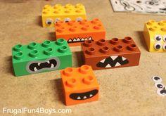 Make Monster pieces! DIY Duplo Monsters Building Set
