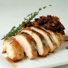 Chicken with Balsamic-Fig Sauce   MyRecipes.com