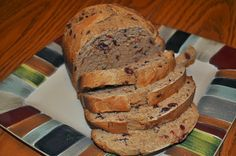 Cranberry Orange Wheat Bread(like Great Harvest) for the Breadmaker - Beths Favorite Recipes