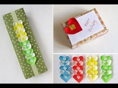 Origami tutorial and video instruction on how to fold an Origami Heart Gift Card and Chain. SUBTÍTULOS EN ESPAÑOL. • Origami Heart. Video tutorial on how to ...