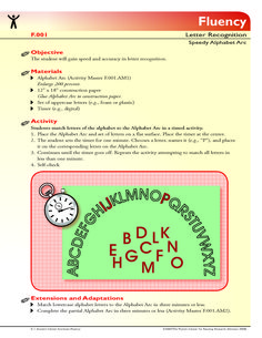 The student will gain speed and accuracy in letter recognition. Small Group Activities, Alphabet Activities, Paper Glue, Letter Recognition, Kindergarten Reading, Dyslexia, Small Groups, Curriculum, Gain
