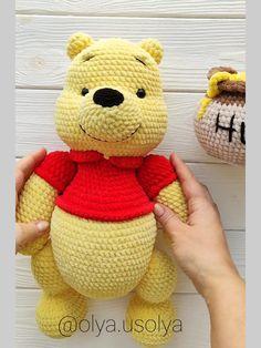 Winnie the Pooh Crochet pattern etsy Winnie the Pooh Crochet pattern amigurumi Winnie the Pooh Crochet tutorial Minion Crochet Patterns, Disney Crochet Patterns, Crochet Disney, Crochet Doll Pattern, Crochet Dolls, Peluche Winnie The Pooh, Winnie The Pooh Pdf, Winnie The Pooh Honey, Crochet Teddy