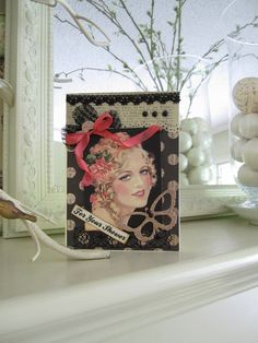 Bridal Shower Card  Wedding Shower Card  Vintage by AvantCarde, $6.50