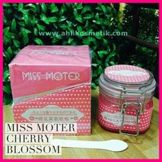 Miss Moter Pink Cherry Blossom Face Wax Original