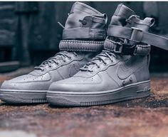 All gray Nike SF AF-1 #subtleheat