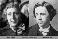 Gene Wilder Totally Looks Like Lewis Carroll