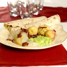Lutefisk and lefse - Christmas Eve Tradition - We always serve it with side pork.  Maybe that is why another Christmas Eve tradition is to go for a long walk when the dishes are done!
