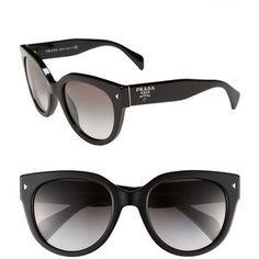 Pr 107S classic Logo Oval sunglasses BLACK!    / I dropped mine at the farmers market