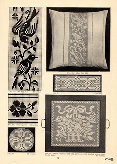 Priscilla Filet Crochet Book No 2. Edited by Mrs. F.W. Kettelle, Augusta, Maine, 1925 - Zosia - Веб-альбомы Picasa
