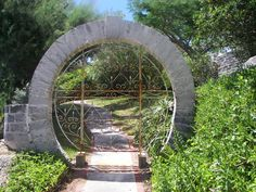 Moon Gate in Bermuda