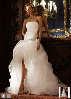Wedding Dress, love the skirt!