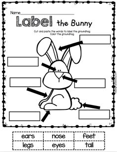 Labeling Worksheets for Kindergarten. 20 Labeling Worksheets for Kindergarten. English Worksheets For Kindergarten, Easter Worksheets, Free Kindergarten Worksheets, Kindergarten Writing, Printable Worksheets, Printable Coloring, Grammar Worksheets, Printables, Free Printable