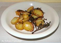My Culinary Curriculum: Pommes de terre grenailles au thym frais (New pota...