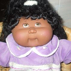RARE SUNKISSED ETHNIC GIRL CABBAGE PATCH DOLL PLAYALONG C/W COPY PAPERS | eBay