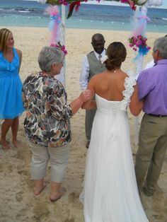 Giving Thanks, at my sister's wedding in Jamaica | The Art of Loving