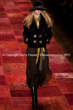 Mercedes Benz New York Fashion Week Tommy Hilfiger Fall 2011 Hananexposures